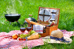 Free Picnic On A Meadow Royalty Free Stock Photos - 70661588