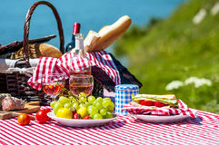 Free Picnic On The Grass Royalty Free Stock Images - 33182009