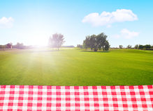 A picnic outdoors Stock Photography