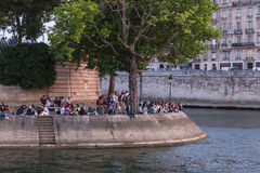 Picnic in Paris Stock Photos