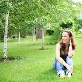 Picnic in park Stock Photo
