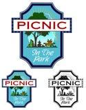 Picnic In The Park Stock Photo