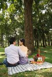 Picnic in park Royalty Free Stock Image