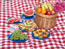 Picnic party stock photography