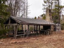 Picnic Pavilion Ruin Royalty Free Stock Images
