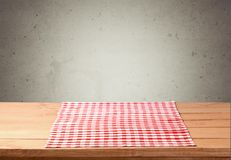 Picnic. Kitchen background outdoor cafe tablecloth cloth Royalty Free Stock Photo