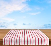 Picnic. Kitchen cloth product tablecloth display summer Stock Photos