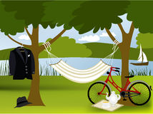 Picnic place Stock Images