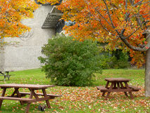 Picnic place royalty free stock photography