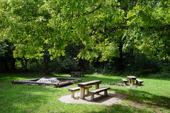 Picnic place Royalty Free Stock Photos