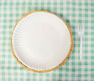 Picnic Place Setting Royalty Free Stock Photo