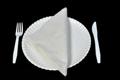 Picnic plate Royalty Free Stock Photo
