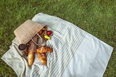 picnic at river beach autumn sunny day