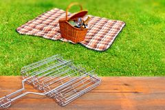Picnic scene Royalty Free Stock Images