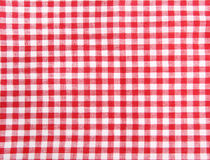 Picnic seamless table cloth Stock Photo