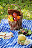 Picnic set outdoor Royalty Free Stock Image