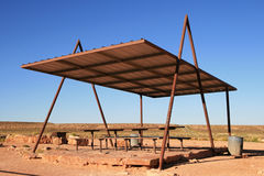 Picnic shelter Stock Photography