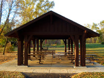 Picnic Shelter Royalty Free Stock Image