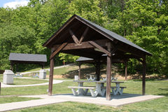 Picnic shelter Stock Images