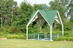 Picnic Shelter in Park Stock Photography