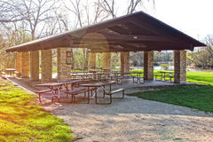 Picnic shelter Royalty Free Stock Photography