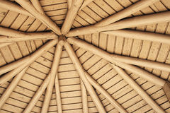 Picnic shelter roof Royalty Free Stock Image