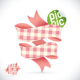Picnic Sign Illustration Royalty Free Stock Image