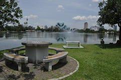 Picnic Site. At Titiwangsa Lake Garden Kuala Lumpur Stock Photography