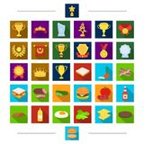Picnic, sport, diet and other web icon in cartoon style. Barbecue, rest, treats, icons in set collection. Royalty Free Stock Images