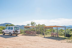 Picnic spot at the Roof Of Namaqualand Royalty Free Stock Photos