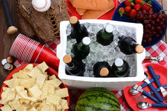 Picnic Still Life Stock Photos