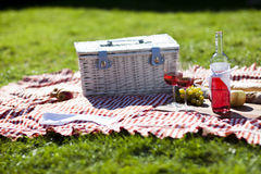 Picnic and sun! Royalty Free Stock Image