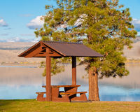 A Picnic Table. Stock Images