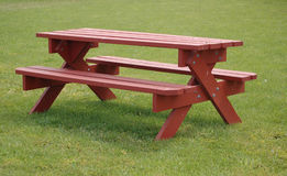 A picnic table Stock Photos