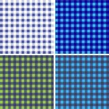 Picnic table cloth. Color square plaid pattern.  Geometrical traditional ornament for fashion textile, cloth, backgrounds. Vector Royalty Free Stock Photography