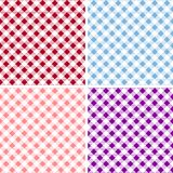 Picnic table cloth. Color square plaid pattern.  Geometrical traditional ornament for fashion textile, cloth, backgrounds. Vector Royalty Free Stock Photo