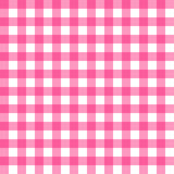Picnic table cloth seamless pattern. Pink picnic plaid texture Royalty Free Stock Images