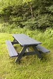 Picnic Table Stock Photo