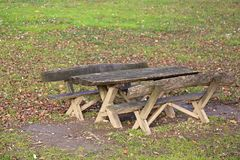 Picnic Table Stock Photos
