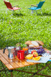 Picnic table Stock Photography