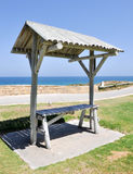 Picnic Table: Indian Ocean View Stock Photography