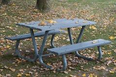 Picnic table Royalty Free Stock Photos