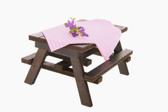 Picnic table Stock Images