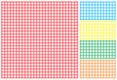 Picnic tablecloth Royalty Free Stock Photography