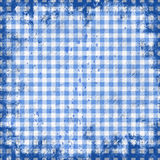 Picnic tablecloth. Grunge illustration of picnic tablecloth Royalty Free Stock Photography