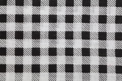 Picnic tablecloth checkered. Black and white picnic tablecloth checkered pattern Stock Images