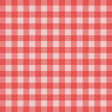 Picnic tablecloth pattern. Red and white checkered tablecloth; Picnic tablecloth Royalty Free Stock Images