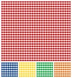 Picnic Tablecloth Texture Stock Photography