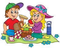 Picnic theme image 1 Royalty Free Stock Photography