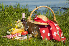Picnic time Stock Photography
